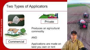 pesticide applicator training basics part 1 5 youtube