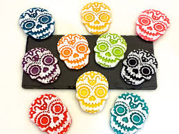 once upon a pedestal day of the dead cookies