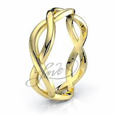 infinity wedding rings celtic wedding rings saoirse infinity celtic band comfort fit 5mm