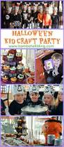 kid craft halloween party