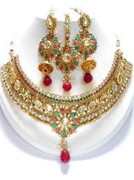 wholesale necklace set images We manufacture wholesale and export the high quality indian polki jpg
