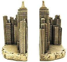 new york library bookends empire state building book ends bookends nyc new york