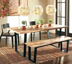 rustic dining room bench dining room table set sets es rustic with gammaphibetaocu com