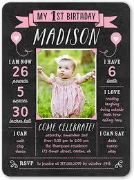 personalized birthday invitations u0026 photo birthday invites