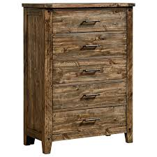 Wayside Furniture Akron by Standard Furniture Nelson Rustic Five Drawer Chest Wayside