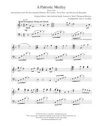 a patriotic medley by amy j van dyk piano solo