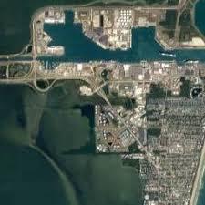 port canaveral map manatee sanctuary park cape canaveral florida