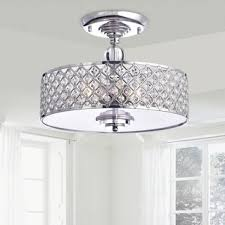 Extend A Finish Chandelier Cleaner Chrome Crystal 4 Light Round Ceiling Chandelier Free Shipping