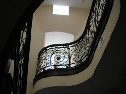 Wrought Iron Stair by Wrought Iron Stair Railings U2013 Mather U0026 Sullivan Architectural Products