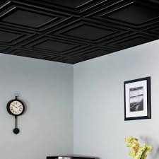 2 2 ceiling tiles icon relief in black for drop ceiling ideas with interior paint color