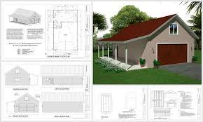 The G442 50x30x12 Garage Plans Free House Plan Reviews by 100 Falling Water Floor Plan Pdf 5 Room House Plan Pdf