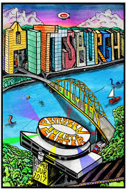 phish pittsburgh poster