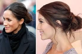 hair bun how to do a bun like meghan markle a step by step guide to