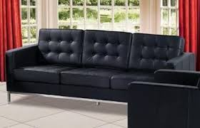 sofas with metal legs modern leather sofa f08 with elegant metal chrome legs ahf08