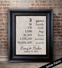 3 yr anniversary gift 3rd year anniversary gift 3 year anniversary gift for