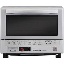 Panini Toaster Oven Panasonic Flashxpress Toaster Oven With Double Infrared Heating
