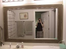 Framed Bathroom Mirrors Ideas Large Wooden Mirrors For Sale 31 Cool Ideas For Large Wooden