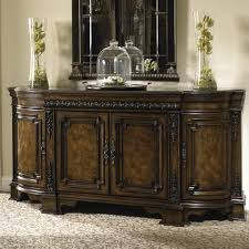 Credenzas And Buffets formal dining credenza with marble top and silverware storage by