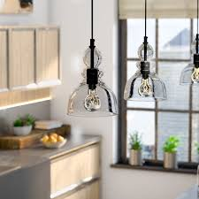 Mini Pendant Light Fixtures For Kitchen Oil Rubbed Bronze Pendants You U0027ll Love Wayfair