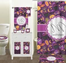 fascinating woor 48 x 72 inches halloween pumpkin fabric shower