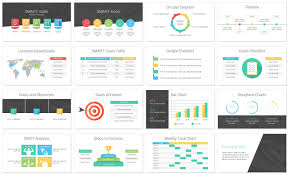 Slide Template Powerpoint Smart Goals Powerpoint Template Slide Templates