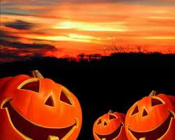 pumpkin sunset happy halloween barbacci flickr