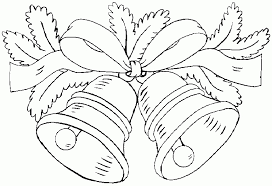 christmas bells coloring pages resume collection