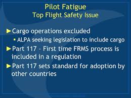 Seeking Pilot Fatigue Risk Management Systems Frms A Pilot S Perspective Ppt