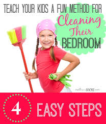 how to clean a bedroom teach kids how to clean a bedroom in 4 easy steps