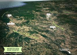 Map Of Napa Beyond Napa The Lesser Known North Coast Wine Regions