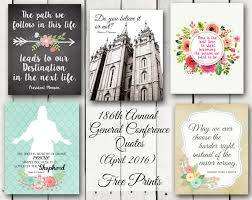 Conference Invitation Card Sample A Pocket Full Of Lds Prints April 2016 General Conference Free