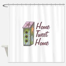 Birdhouse Shower Curtain Country Birdhouse Shower Curtains Country Birdhouse Fabric