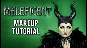 maleficent halloween costume makeup tutorial disney villain