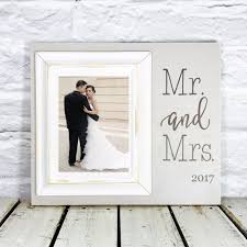wedding gift photo frame personalized mr and mrs wedding gift 12 x 14 picture frame gift
