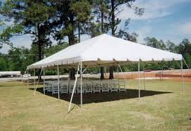 Wooden Wedding Chairs 20 X 40 Ft Wedding Frame Tent And White Wooden Chairs Ring Party