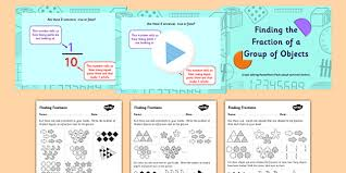 3 finding the fraction of objects powerpoint task setter