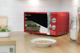 russell hobbs 17 litre red manual microwave from the original
