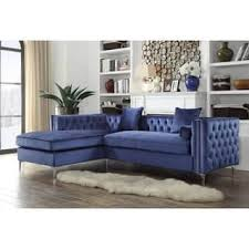 Navy Blue Sectional Sofa Blue Sectional Sofas For Less Overstock