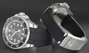 rubber bracelet watches images Introducing the rubber b rolex deepsea glidelock watch strap jpg