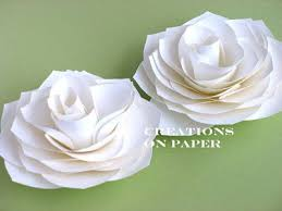 How To Make Easy Paper Flowers For Cards - best 25 flower tutorial ideas on pinterest paper flower