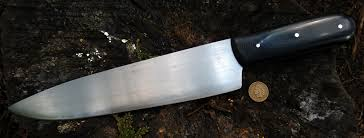 large kitchen knives ml knives one of a custom forged knives kitchen knives
