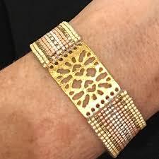 bracelet hand images Jewelry hand loomed bracelet poshmark jpg
