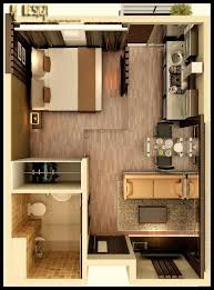Efficiency Apartment Ideas Studio Apartment Floor Plans