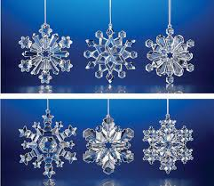 snowflake ornaments club pack of 48 decorative christmas snowflake ornaments 3