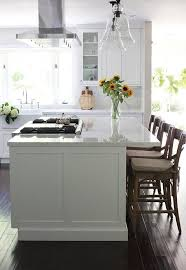 five kitchen island with seating design ideas on a budget before after a dark kitchen gets a family friendly makeover