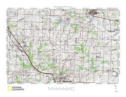 Camp Dearborn Map Missouri River Osage River Drainage Divide Area Landform Origins