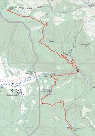 Philmont Scout Ranch Map Philmont 2014 Itinerary 32 Day 7