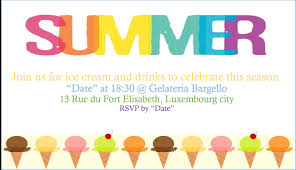 Gathering Invitation Card Summer Party Invitations Summer Party Invitations Pinterest