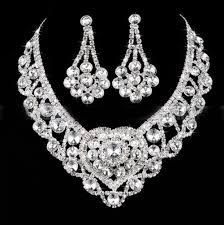 wedding jewelry buy accessories wedding jewelry set earrings necklace cheap