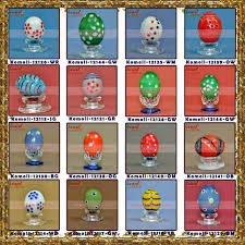 painted wooden easter eggs wooden easter eggs painted handmade peacock design easter egg
